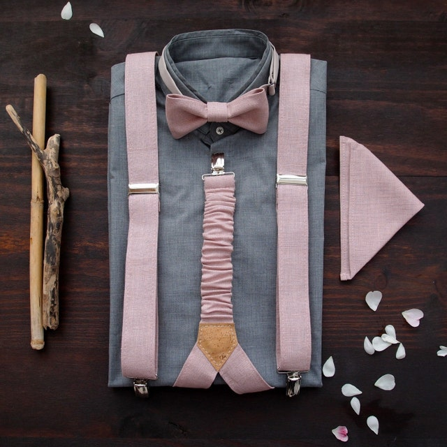 fba18c14e Suspenders and bow ties for men and women by baboshkaa on Etsy