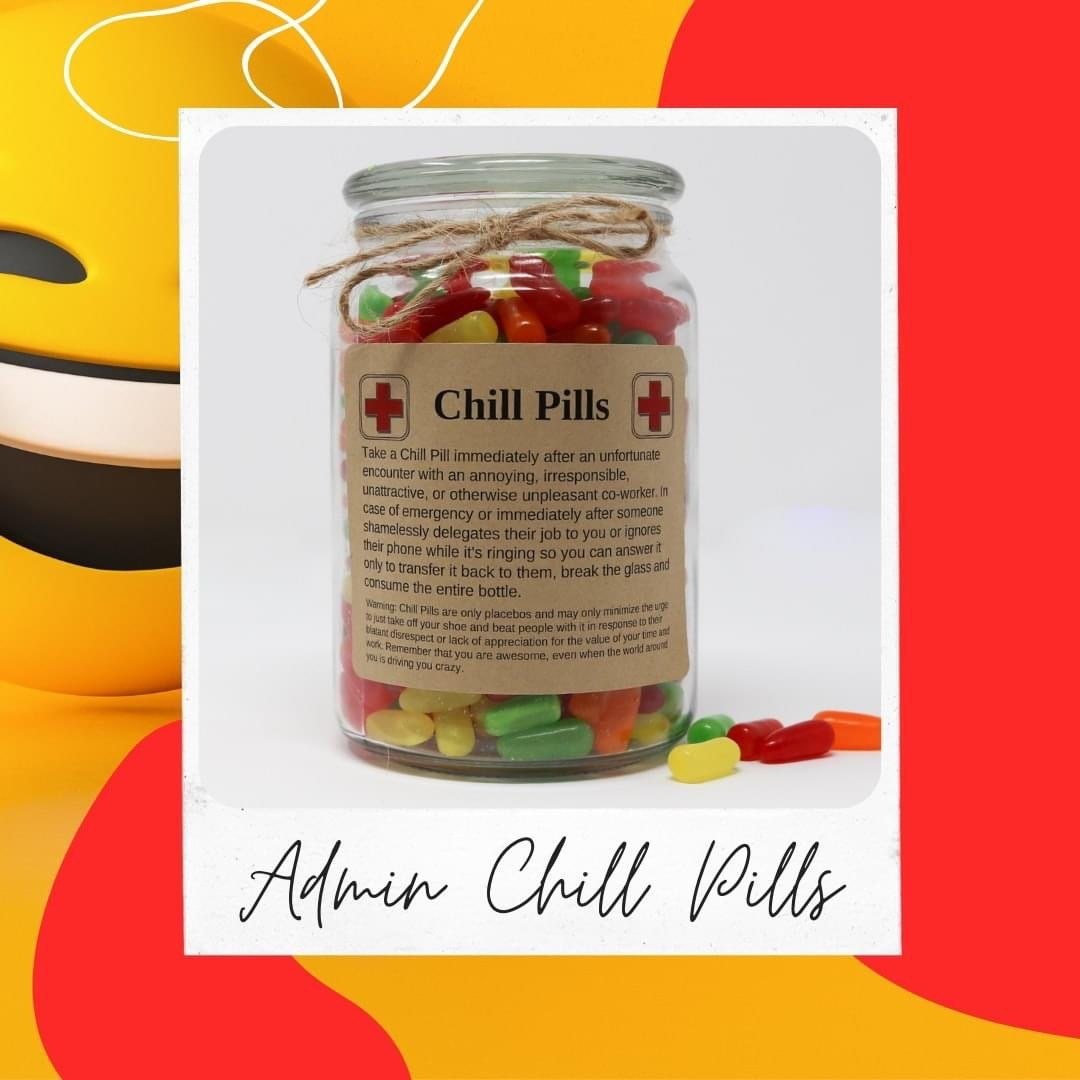 Funny Printable Gifts for Baby Shower Nanny Mom or Daycare Workers Chill Pill Gifts About Toddlers