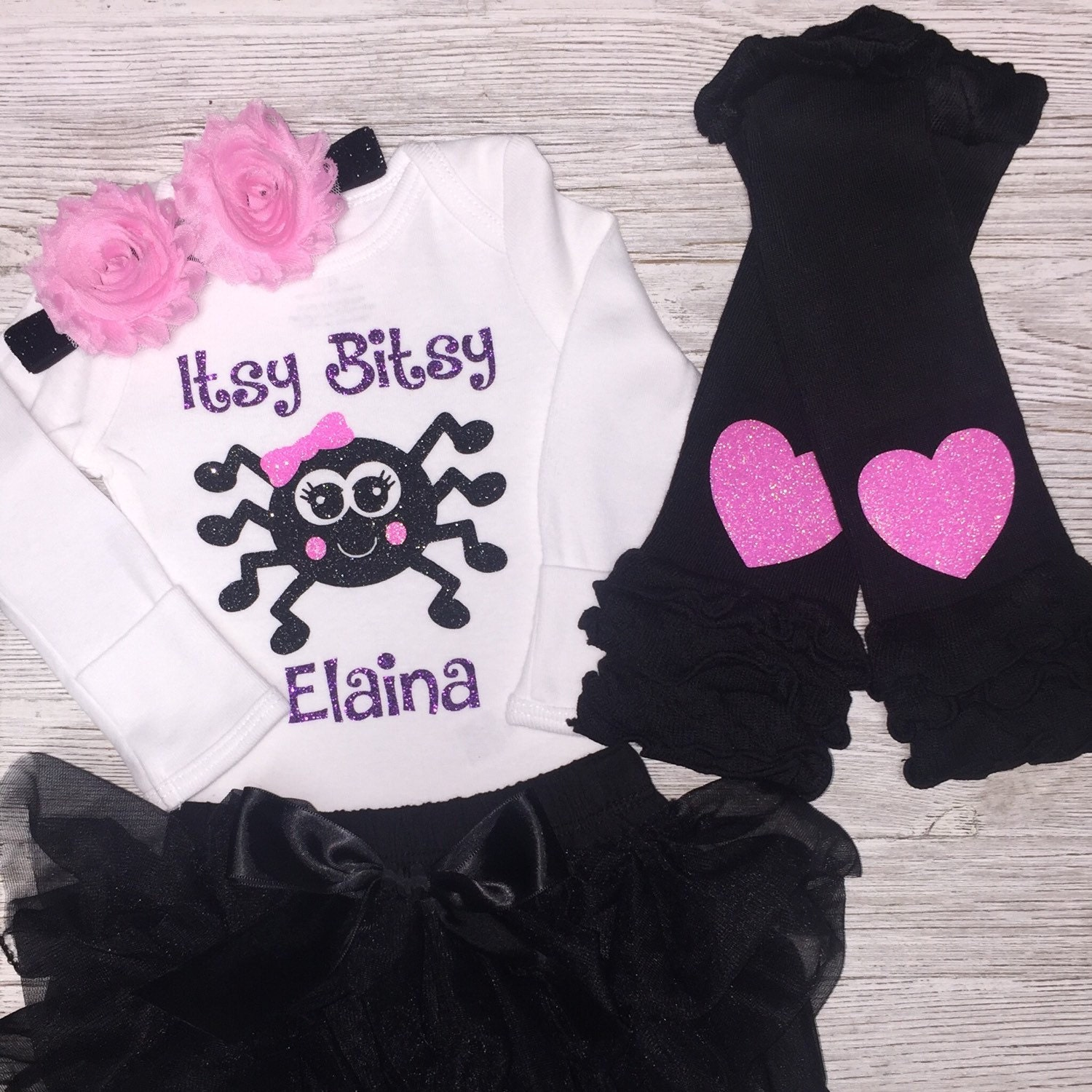 personalized baby girl halloween outfit baby girl clothes | etsy