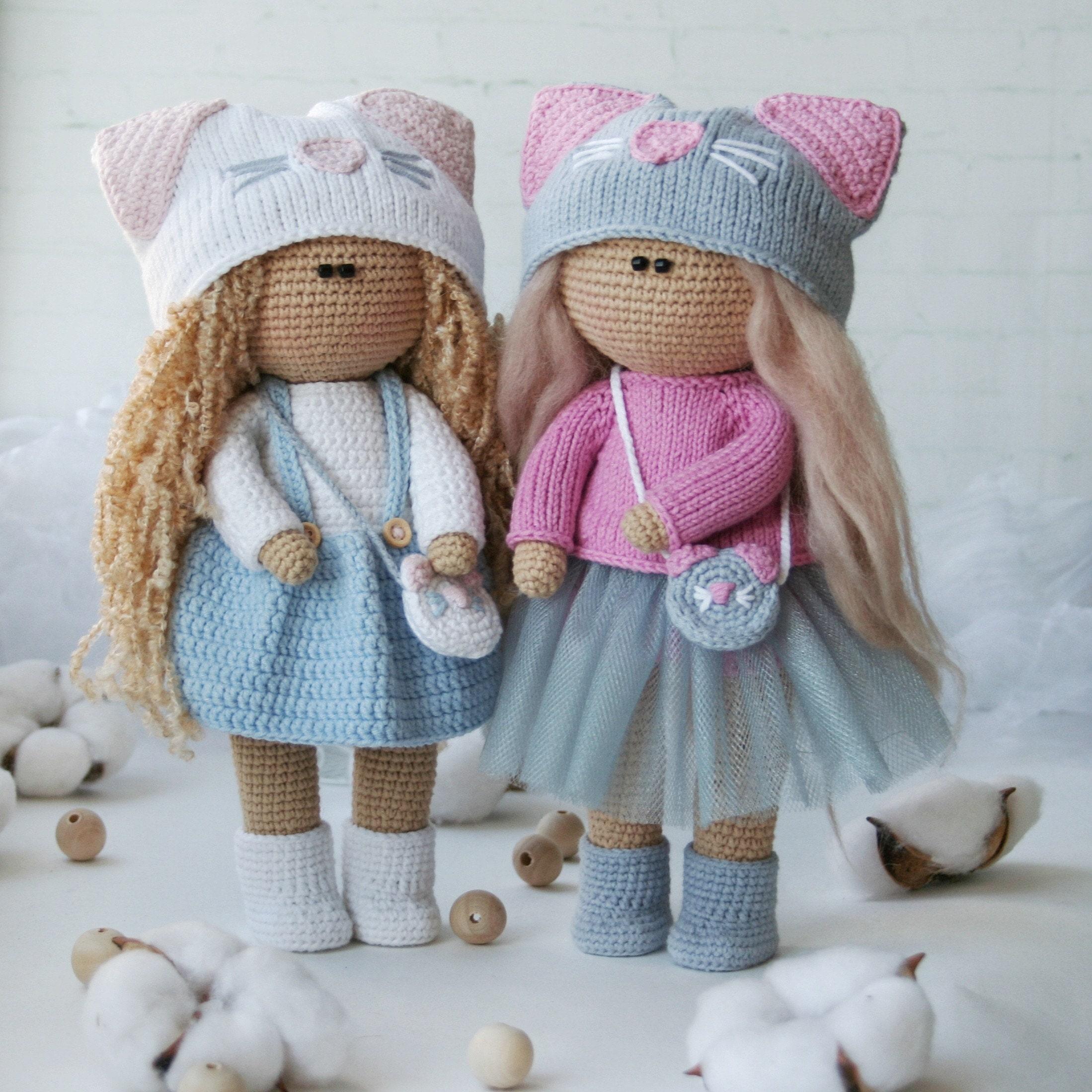 Baby Bean Doll (Free Amigurumi Crochet Pattern, Human Body Doll ... | 2198x2198
