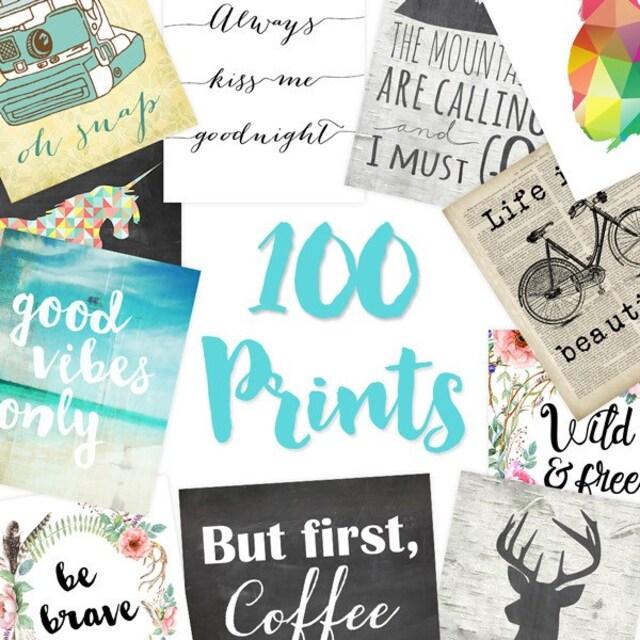 Printable Art Wedding Decor Nursery Decor von DreamBigPrintables