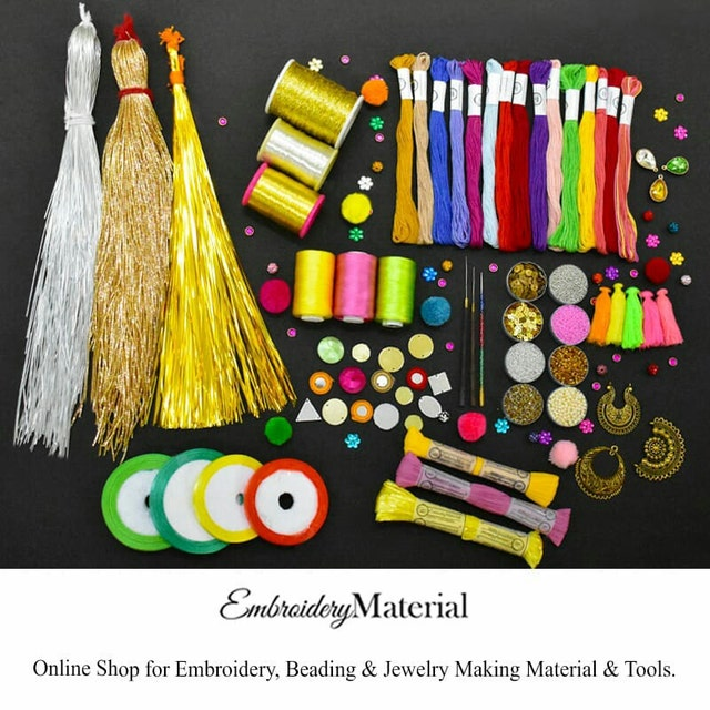 Shop For Embroidery Beading Jewellery By Embroiderymaterial