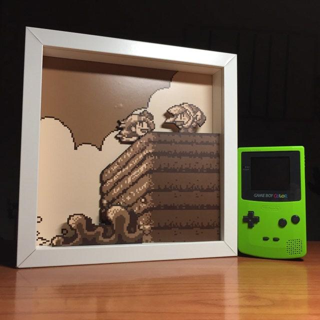 90491fdc5 Dioramas 3D de videojuegos cortados a mano. NO ES de chimo55jimbo