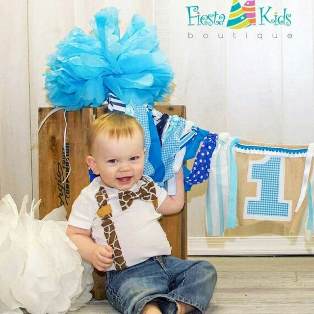 Cake Smash Outfits & Birthday Banners By FiestaKidsBoutique