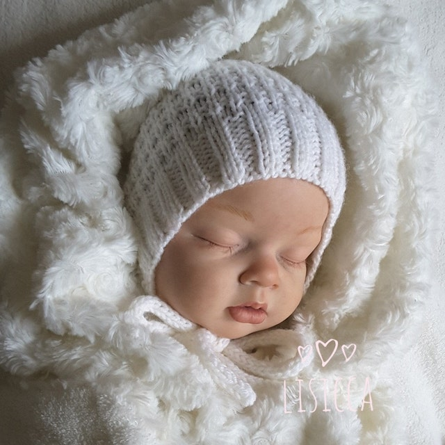 Knitted clothes for newborns. Only handwork von LisiKnit auf Etsy