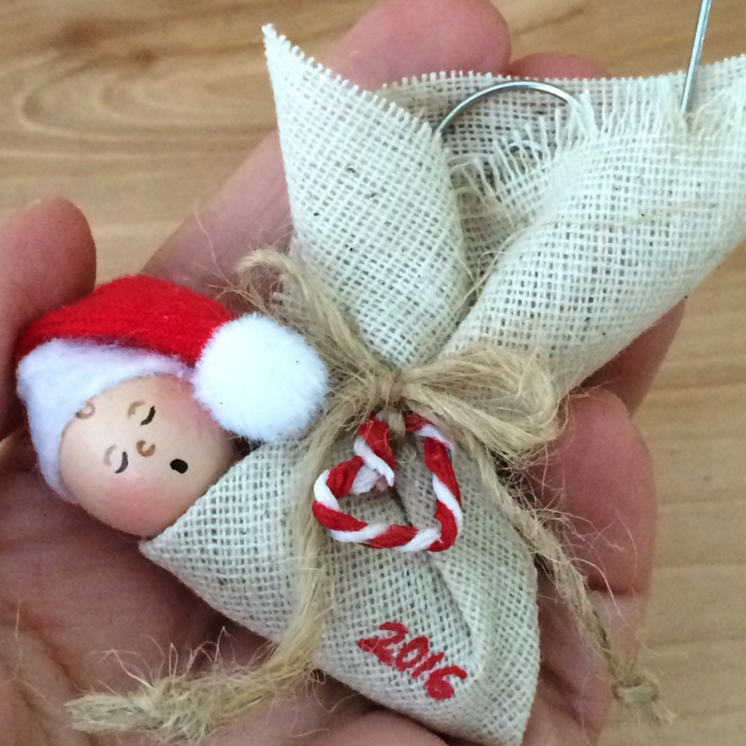 Baby S First Christmas Ornament Etsy