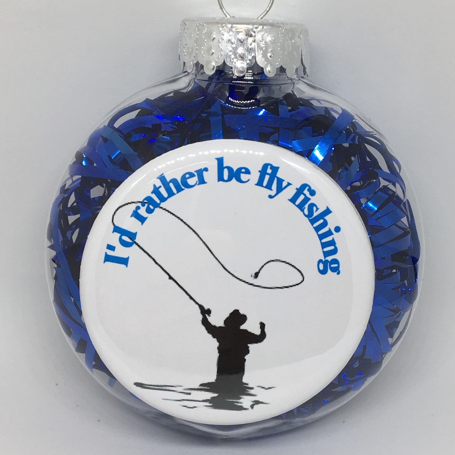 Fly Fishing Holiday Christmas Ornament Gift   Etsy