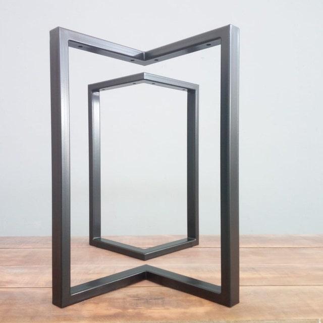 3c9544453435 Metal Table Legs and Bases Custom Metal Works by Balasagun on Etsy