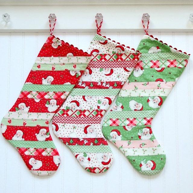 8cb85f28737 Handmade Christmas stockings and Easter basket by tadacreations