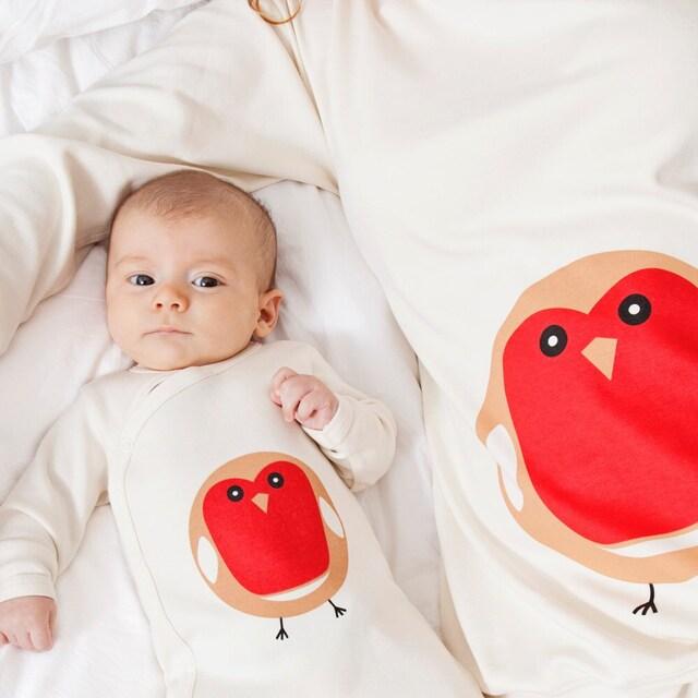 56b3431e6b Organic Family Pyjamas maternity ladies mens   child by PJMamma