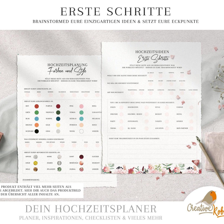 Gratis Hochzeitsplaner Mit Budgetubersicht Zum Download Fraulein