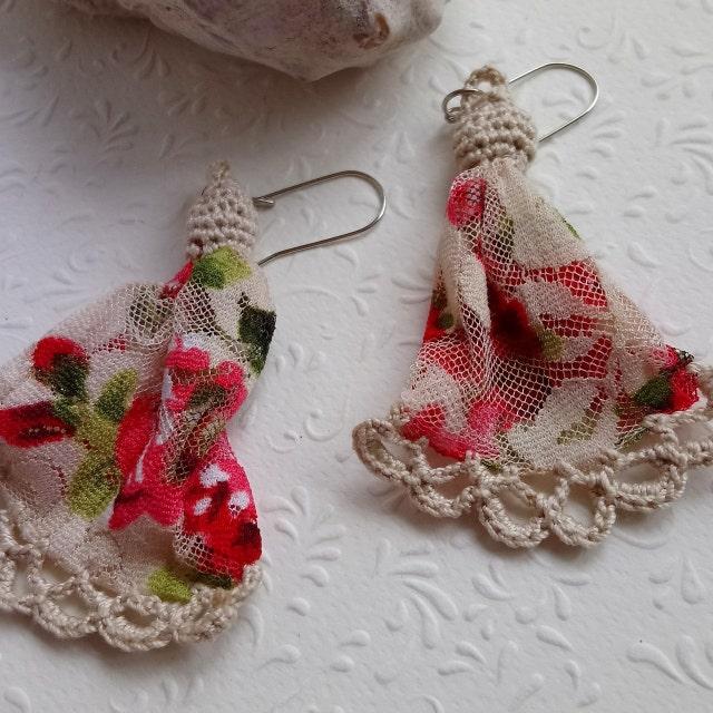 Unique Handmade Jewelry Crochet Design Boutique von JullieJewelry