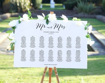 Table Seating Charts