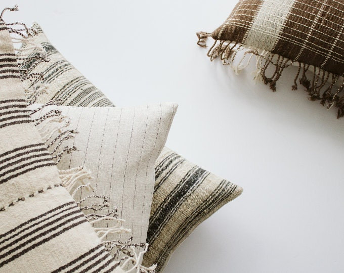 pillows : modern + hmong