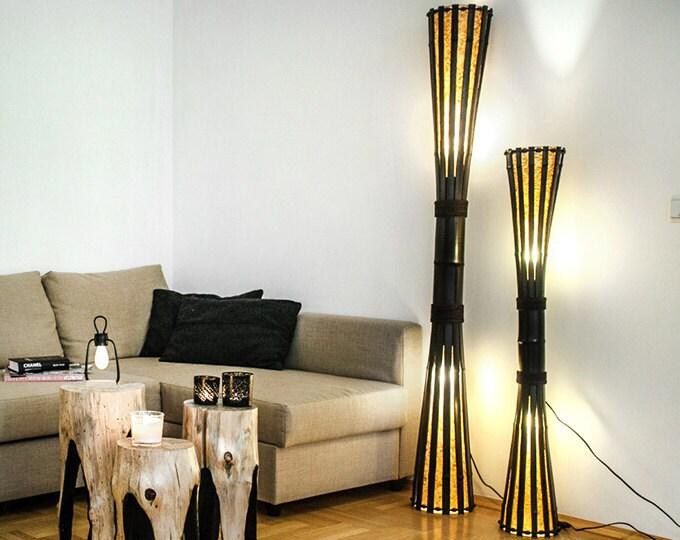 Bamboo floor lamps