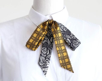 scarves : yellows