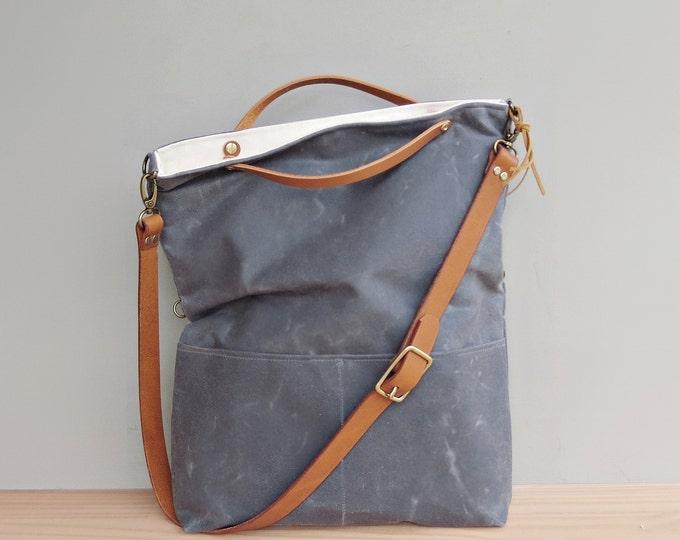 Convertible foldover bag