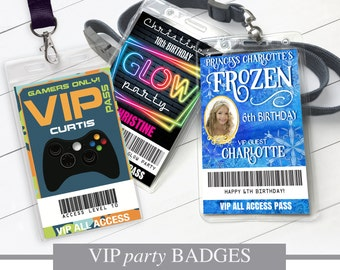 BADGES & PASS
