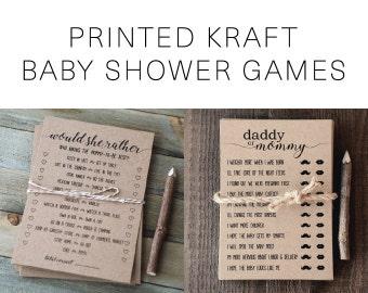 Printed Kraft Games
