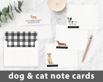 NOTE CARDS Animals