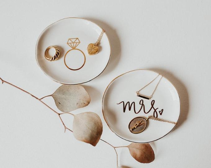 Trays + Jewelry Dishes