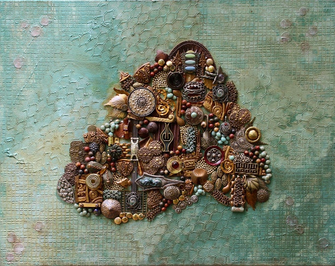 All Assemblage Art
