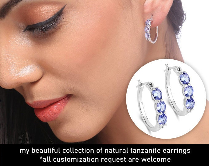 Tanzanite Silver Jewelry