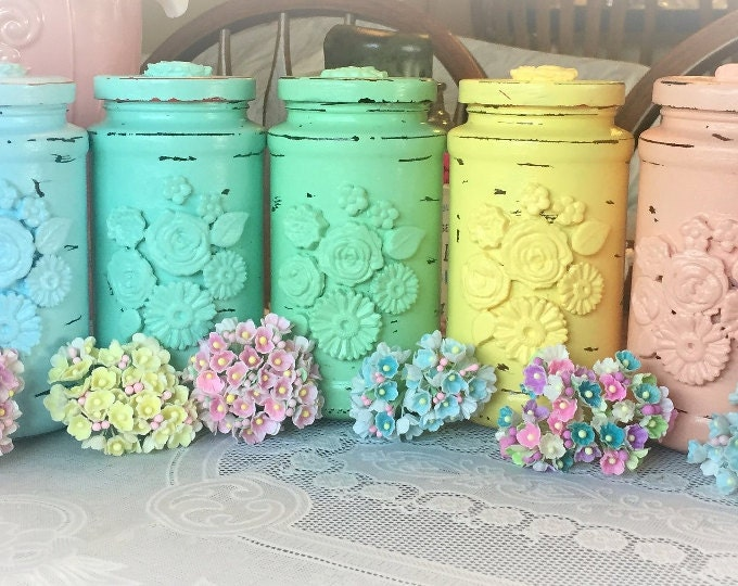 Decorated Jars & Cans