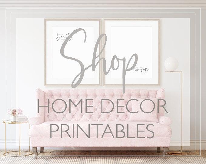 Home Decor Printables