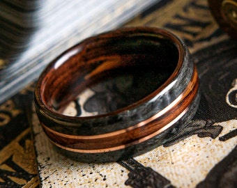 Rings with Inlays