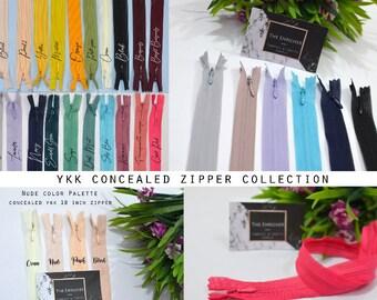 YKK invisible zipper