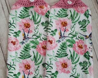 Crochet Kitchen Towels