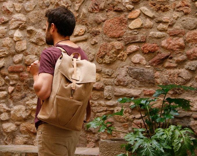 "Vegan Backpack 15"""