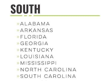 USA - South