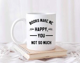 Book worm mugs