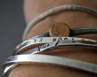 Silver Bracelets/Cuffs