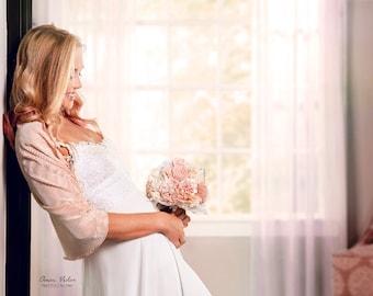 Colorful wedding shawls