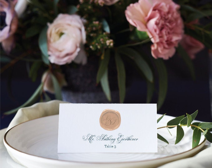 Wedding Day: Place Cards