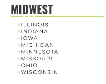 USA - Midwest