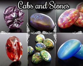 Cabochons/Stones/Buttons