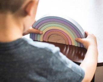 Rainbow Stackers