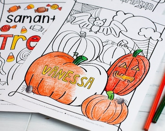 Kid's Coloring Sheets