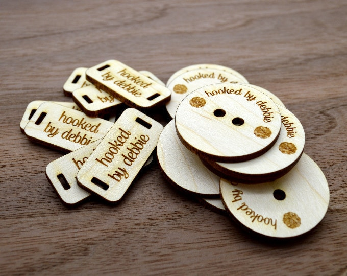 Wooden Product Tags