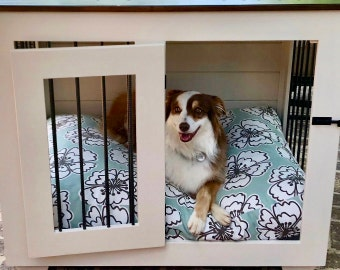 Wood Dog Beds & Kennels