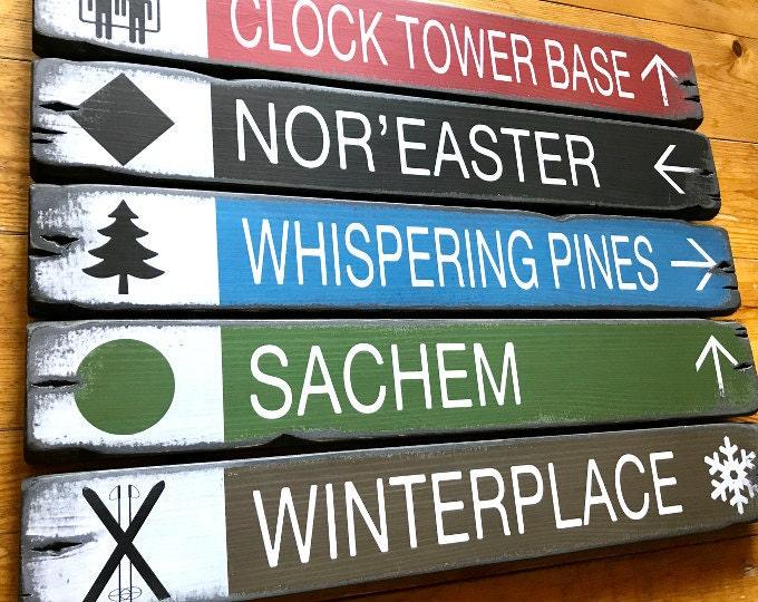 Custom Trail Signs
