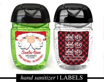 PRINTED Sanitizer Labels