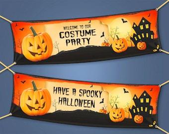 Halloween Banner & Signs
