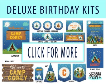 DELUXE Birthday Kits