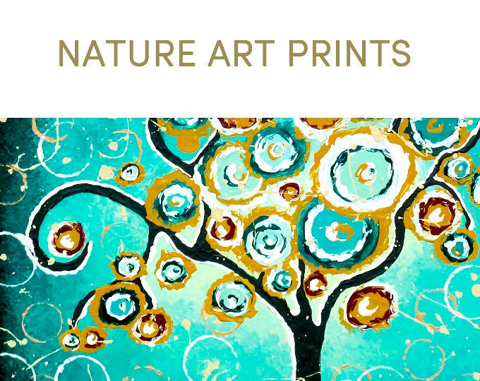 nature art prints