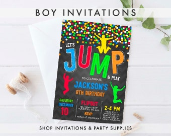 BOY INVITATIONS
